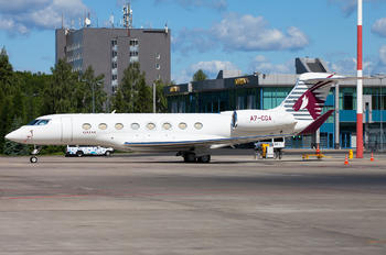 A7-CGA - Qatar Executive Gulfstream Aerospace G650, G650ER