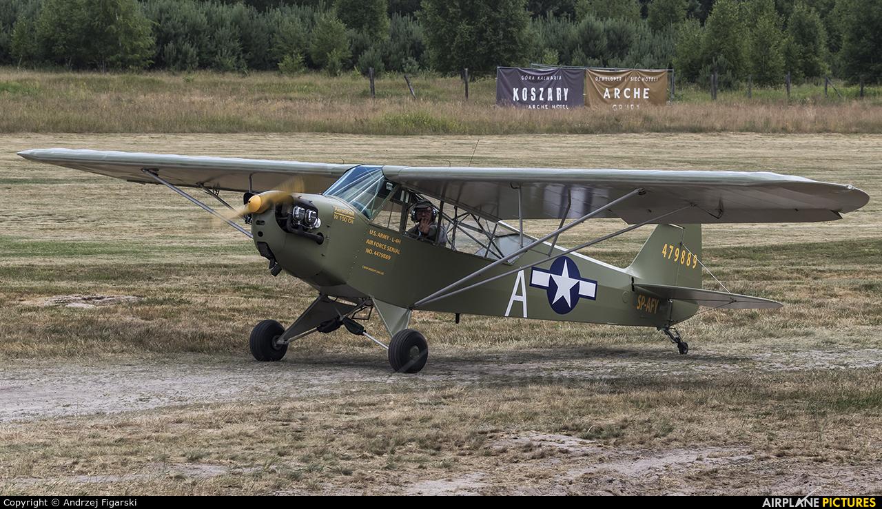 Private SP-AFY aircraft at Sobienie Królewskie
