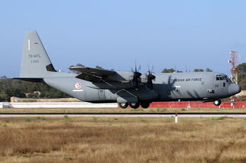 TS-MTL - Tunisia - Air Force Lockheed C-130J Hercules