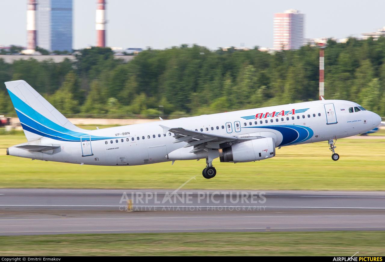 Yamal Airlines VP-BBN aircraft at St. Petersburg - Pulkovo