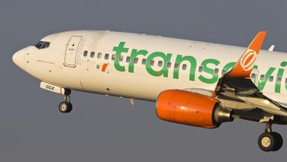 PH-GGX - Transavia Boeing 737-800