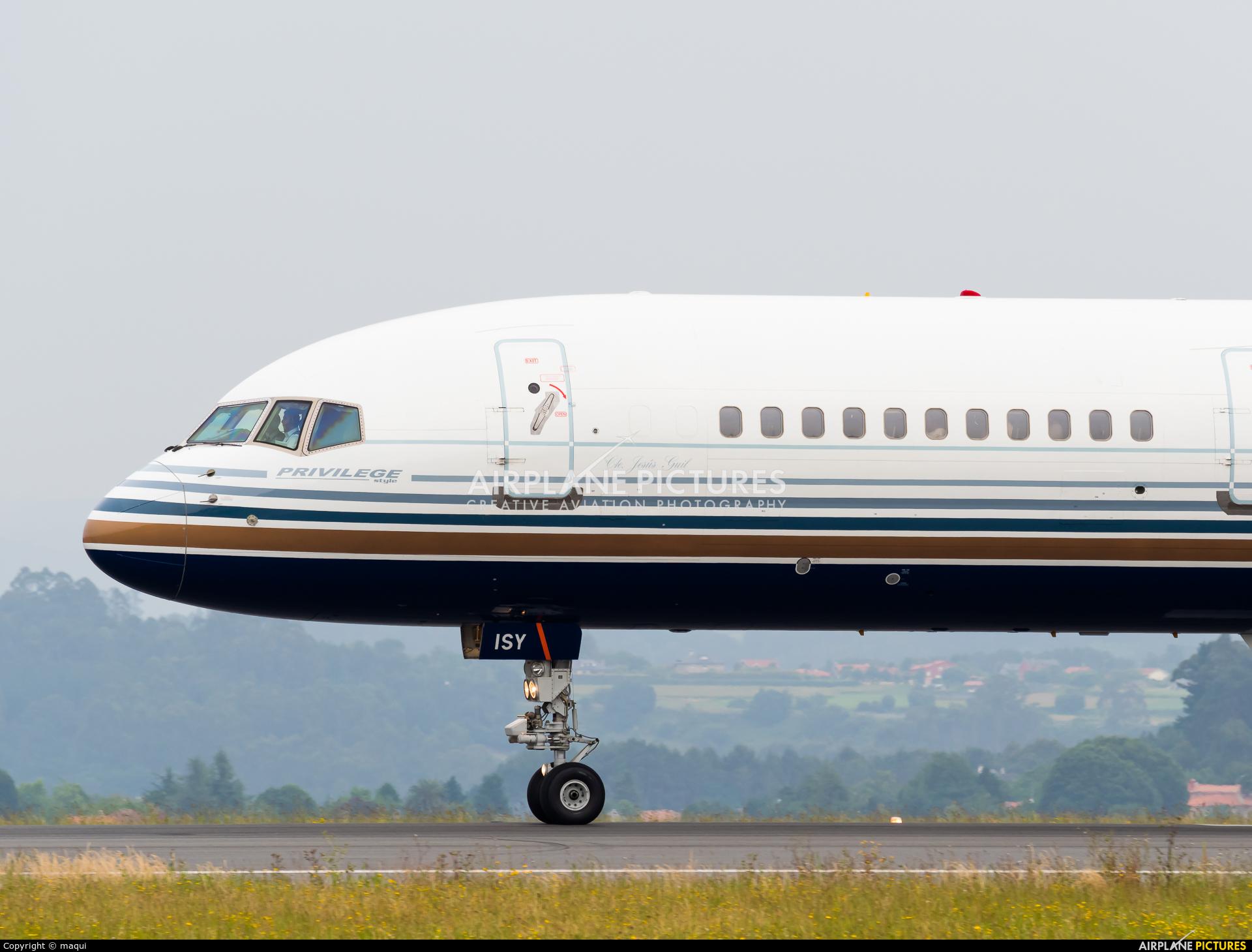 Jet2 EC-ISY aircraft at La Coruña