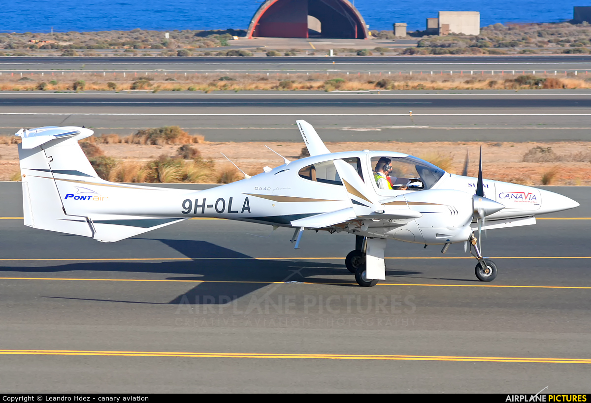 Private 9H-OLA aircraft at Aeropuerto de Gran Canaria