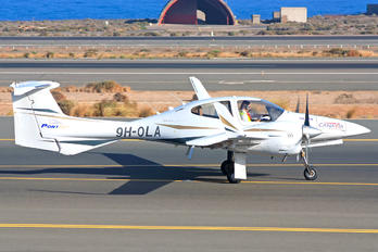 9H-OLA - Private Diamond DA 42 Twin Star