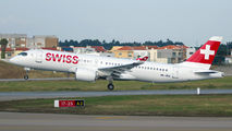 New Bombardier CS300 for SWISS title=