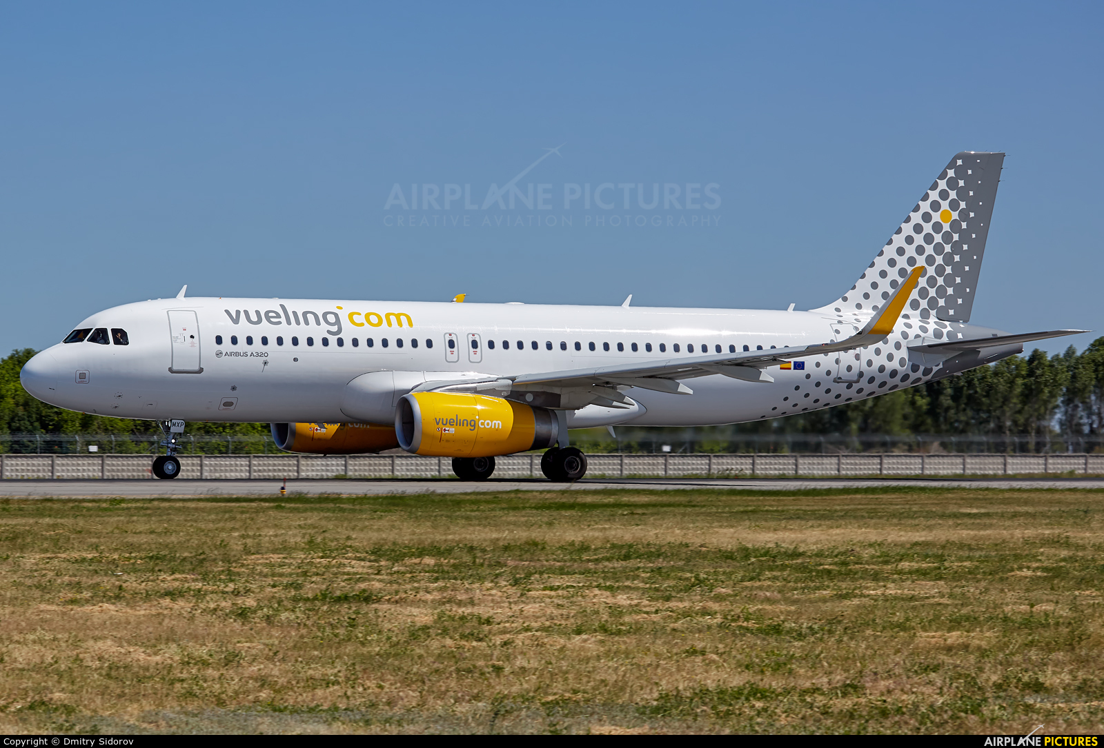 Vueling Airlines EC-MXP aircraft at Kiev - Borispol