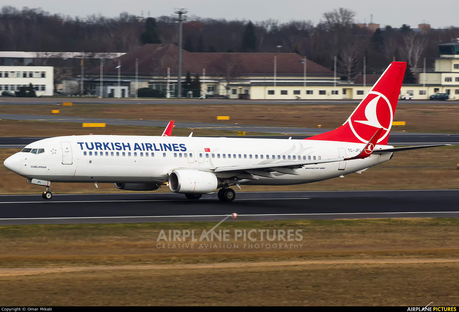 Turkish Airlines TC-JFL aircraft at Berlin - Tegel