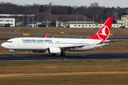 TC-JFL - Turkish Airlines Boeing 737-800 aircraft
