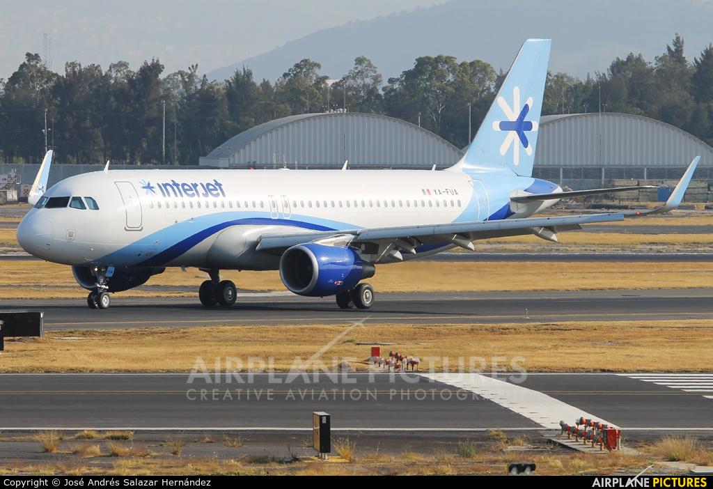 Interjet XA-FUA aircraft at Mexico City - Licenciado Benito Juarez Intl