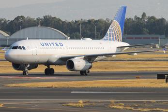N849UA - United Airlines Airbus A319