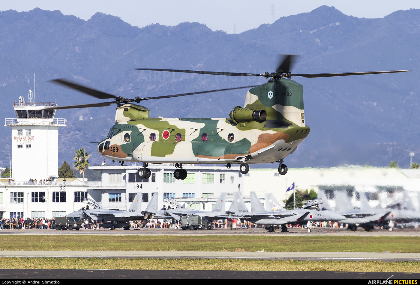 Japan - Air Self Defence Force 37-4489 aircraft at Nyutabaru AB