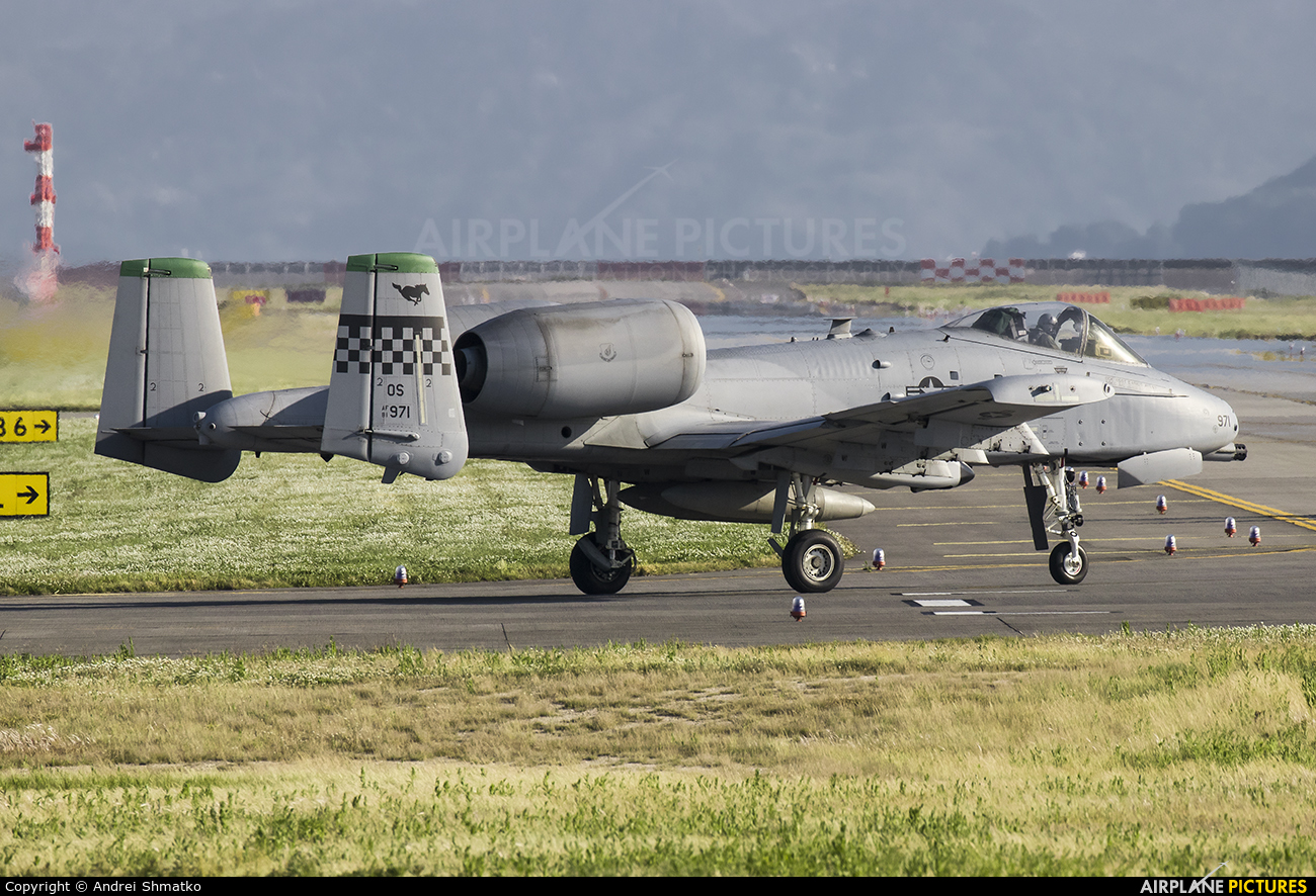 USA - Air Force 81-0971 aircraft at Iwakuni MCAS