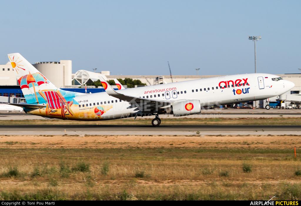 AzurAir VP-BIR aircraft at Palma de Mallorca