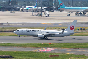 JA344J - JAL - Japan Airlines Boeing 737-800