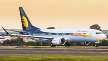 Delivery flight of first Boeing 737 MAX for Jet Airways title=