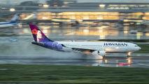 N375HA - Hawaiian Airlines Airbus A330-200 aircraft