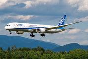 Rare visit of ANA Boeing 787 to Ljubljana title=