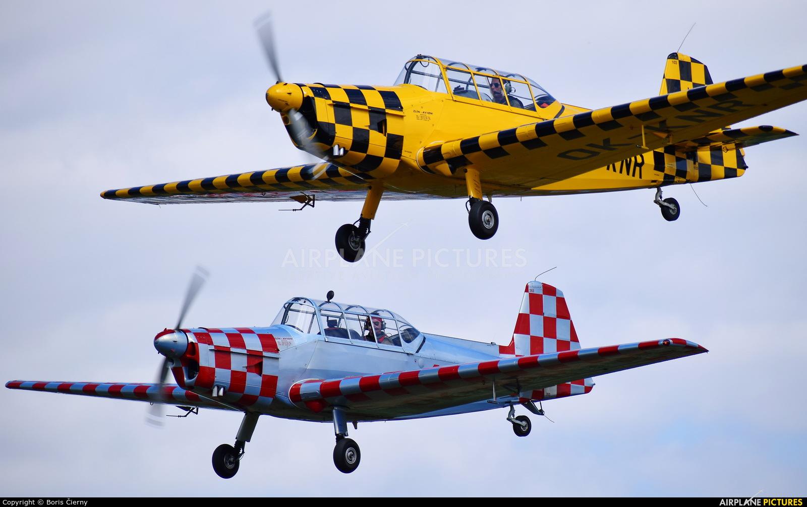 Aeroklub Czech Republic OK-KNR aircraft at Trnava- Boleráz