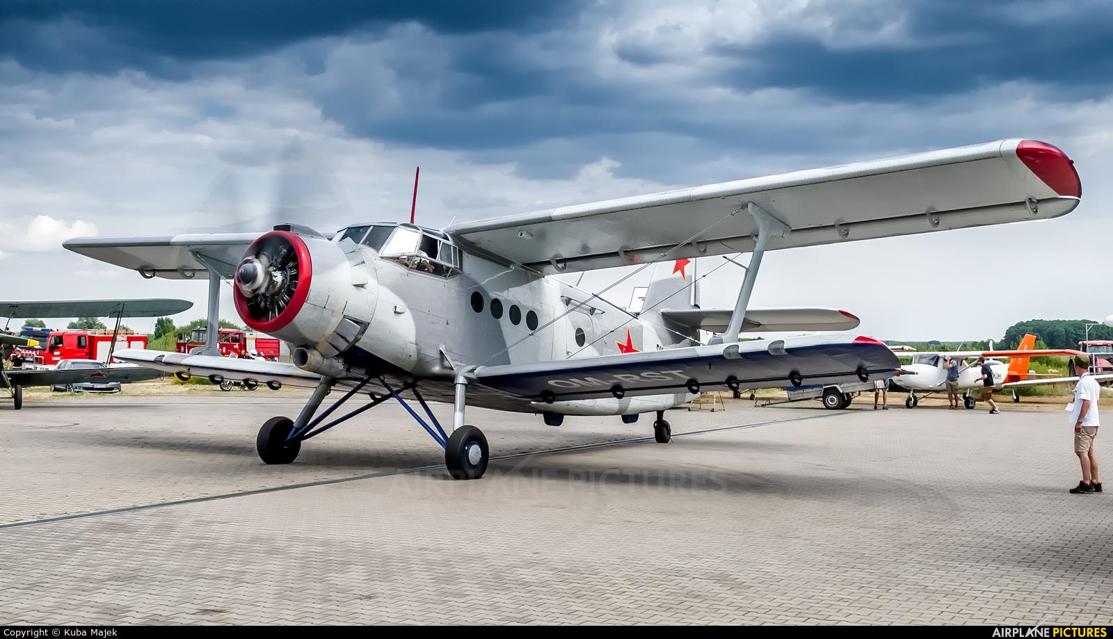Private OM-RST aircraft at Sobienie Królewskie