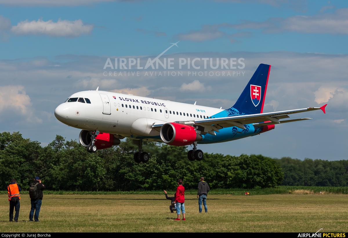 Slovakia - Government OM-BYK aircraft at Trnava- Boleráz
