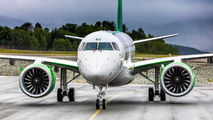 Third Embraer E190 E2 for Wideroe title=