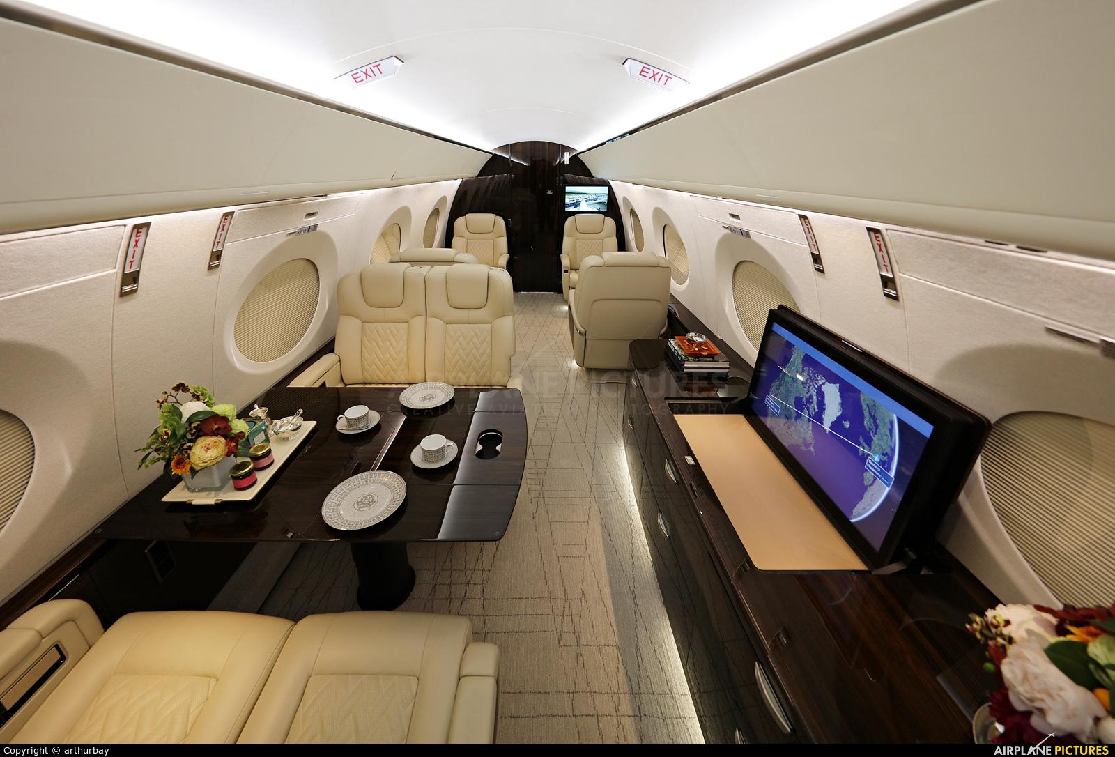 Gulfstream Aerospace Service Corp N600G aircraft at Geneva Intl