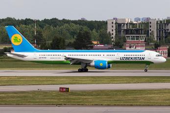 UK-75702 - Uzbekistan Airways Boeing 757-200