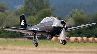 N313WB - Private North American T-28B Trojan