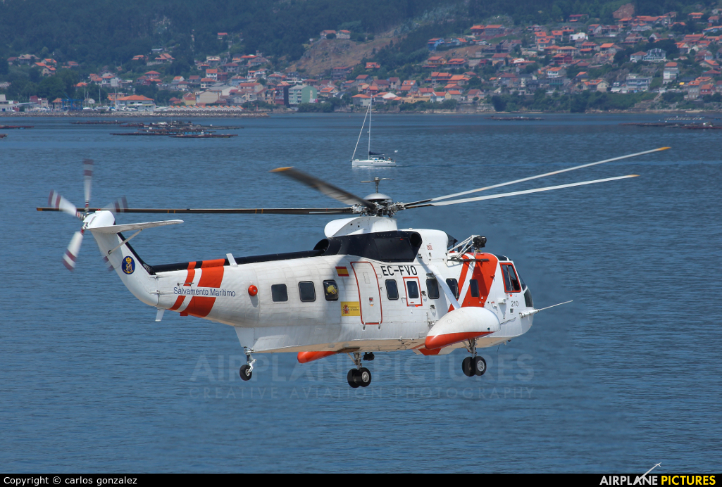 Spain - Coast Guard EC-FVO aircraft at Off Airport - Spain