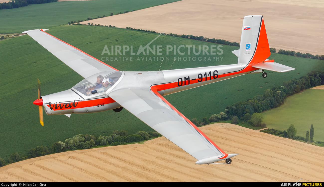 Aeroklub Bratislava OM-9116 aircraft at In Flight - Slovakia