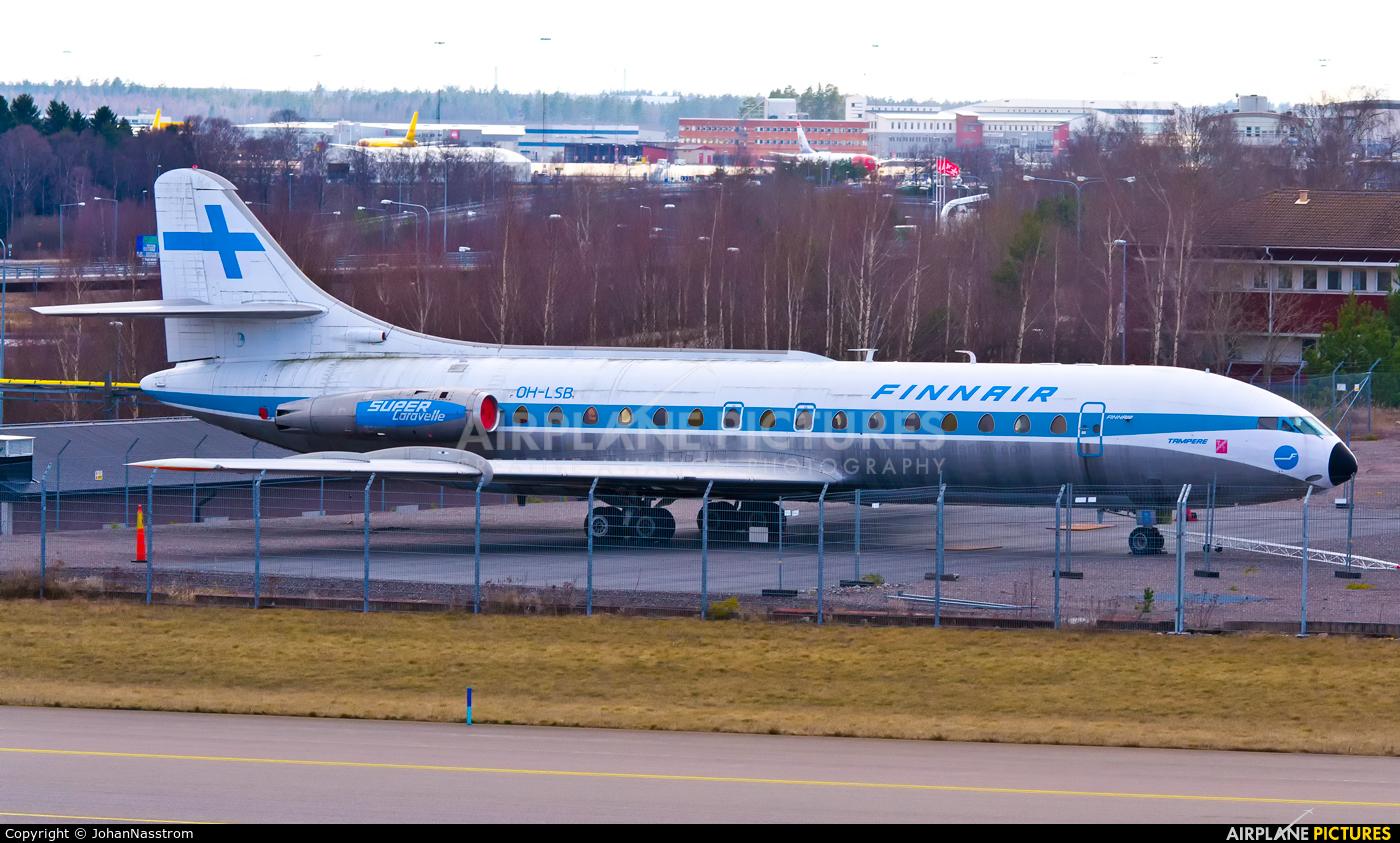 Finnair OH-LSB aircraft at Stockholm - Arlanda