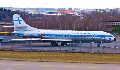 OH-LSB - Finnair Sud Aviation SE-210 Caravelle