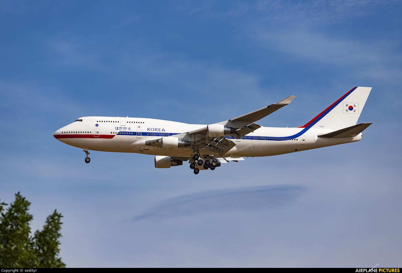 Korean Air 10001 aircraft at Rostov-on-Don