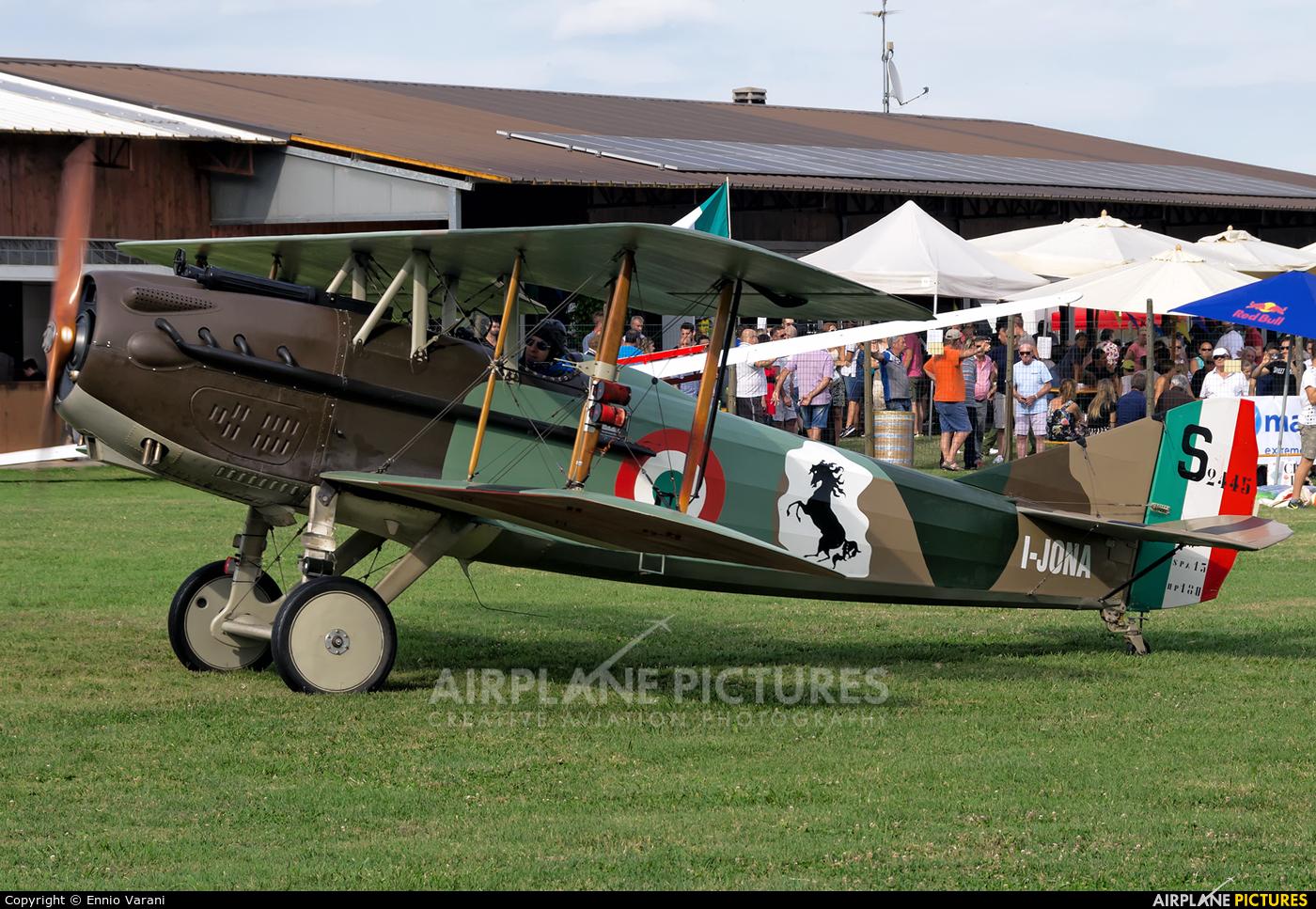 Private I-JONA aircraft at Montagnana
