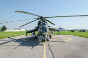 7355 - Czech - Air Force Mil Mi-24V aircraft