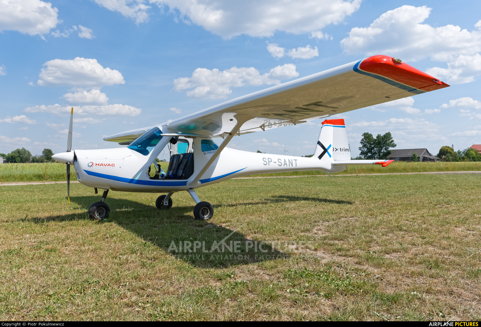 Private SP-SANT aircraft at Off Airport - Poland