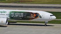 HZ-AK43 - Saudi Arabian Airlines Boeing 777-300ER aircraft