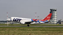 SP-LDF - LOT - Polish Airlines Embraer ERJ-170 (170-100) aircraft