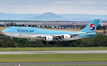 HL7638 - Korean Air Boeing 747-8