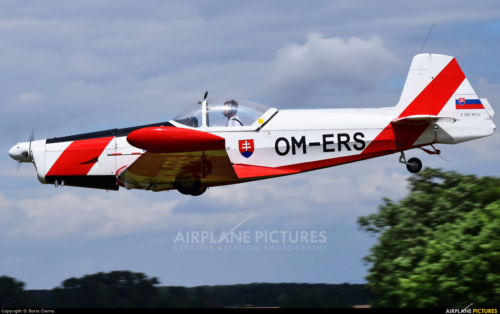 Aeroklub Bratislava OM-ERS aircraft at Trnava- Boleráz