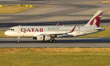 A7-AHP - Qatar Airways Airbus A320