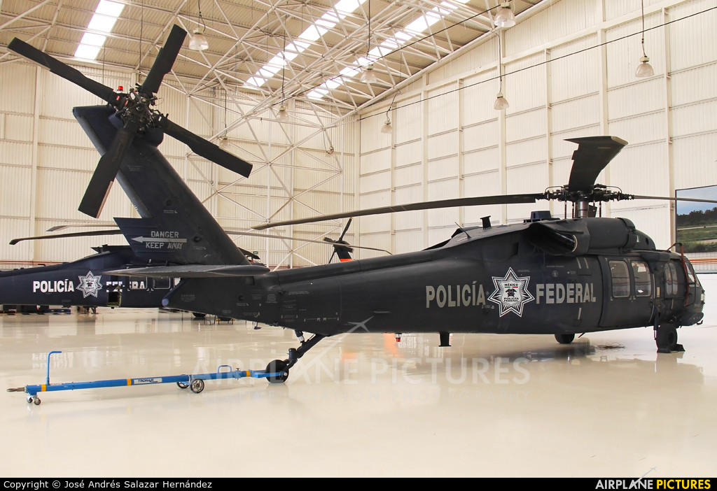 Mexico - Police PF-102 aircraft at Off Airport - Mexico
