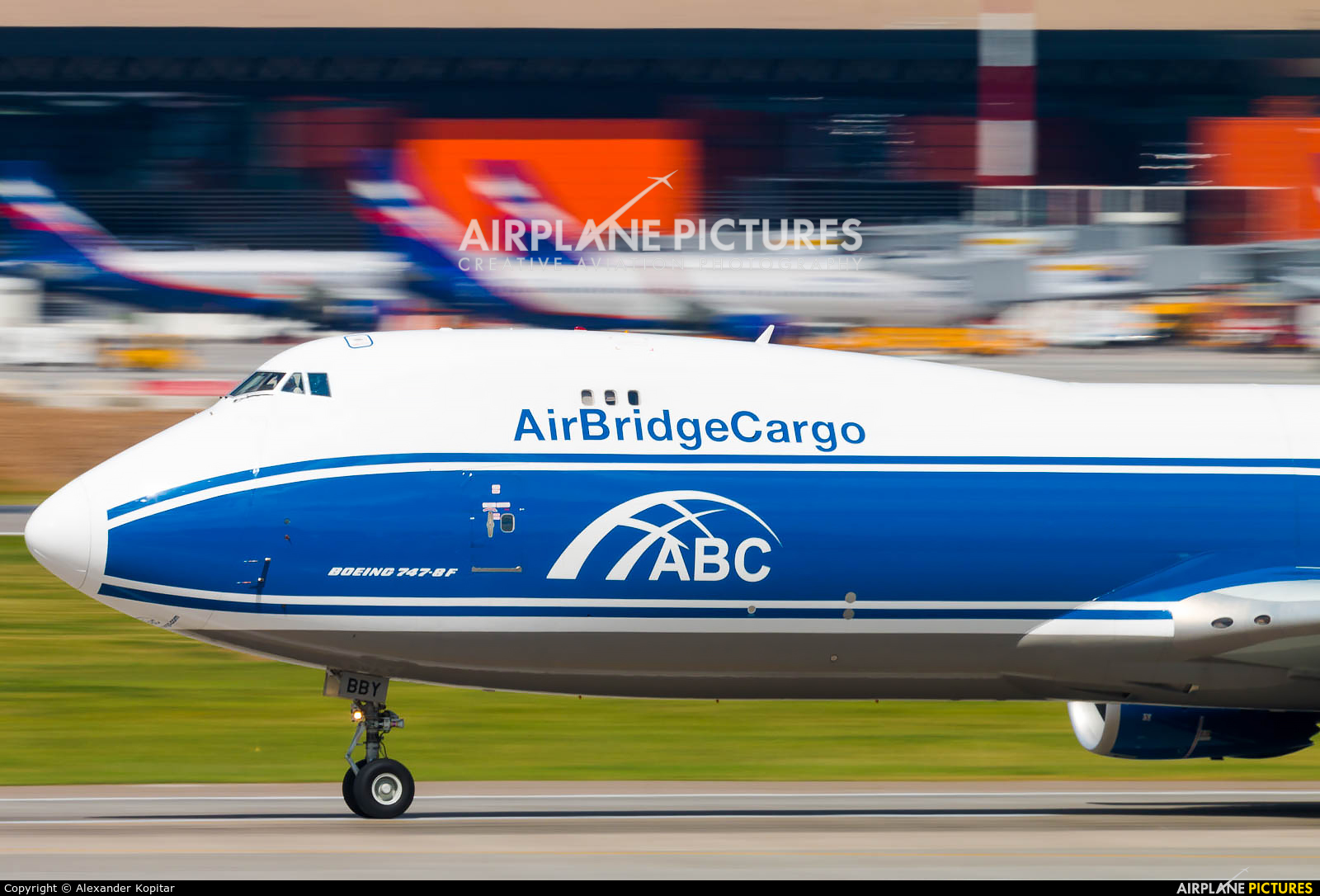 Air Bridge Cargo VP-BBY aircraft at Moscow - Sheremetyevo