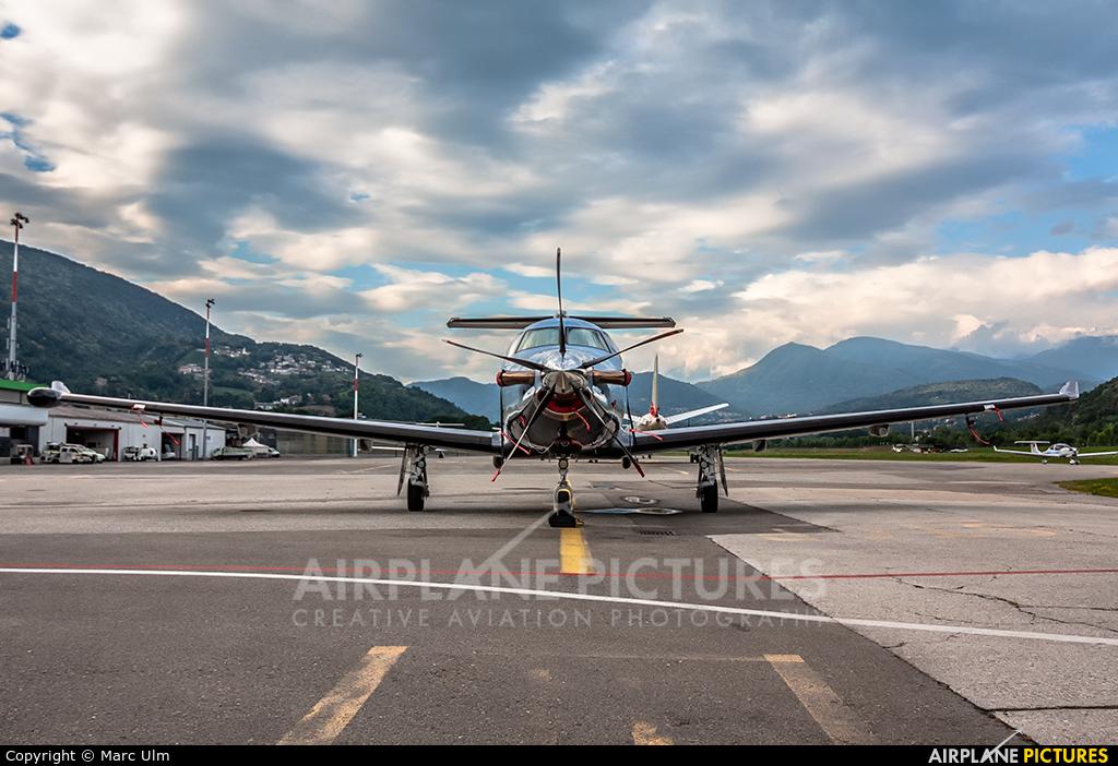 Private HB-FXO aircraft at Lugano - Agno