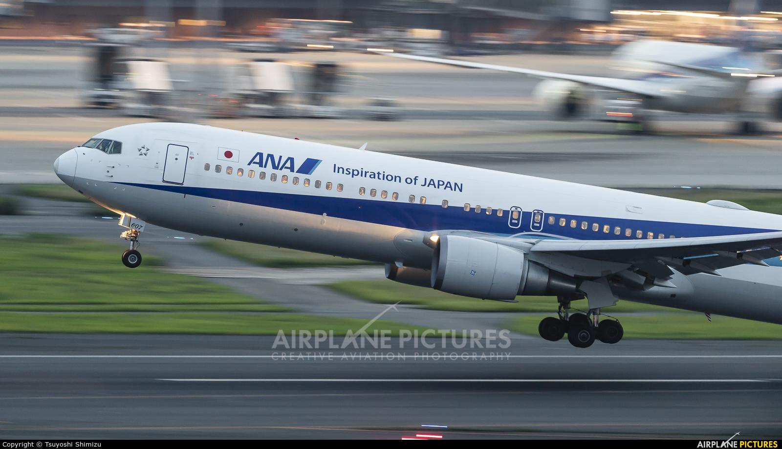 ANA - All Nippon Airways JA607A aircraft at Tokyo - Haneda Intl