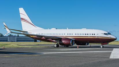 N162WC - Private Boeing 737-700 BBJ