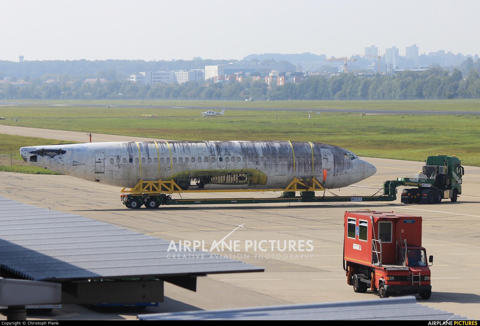 Lufthansa D-ABCE aircraft at Friedrichshafen