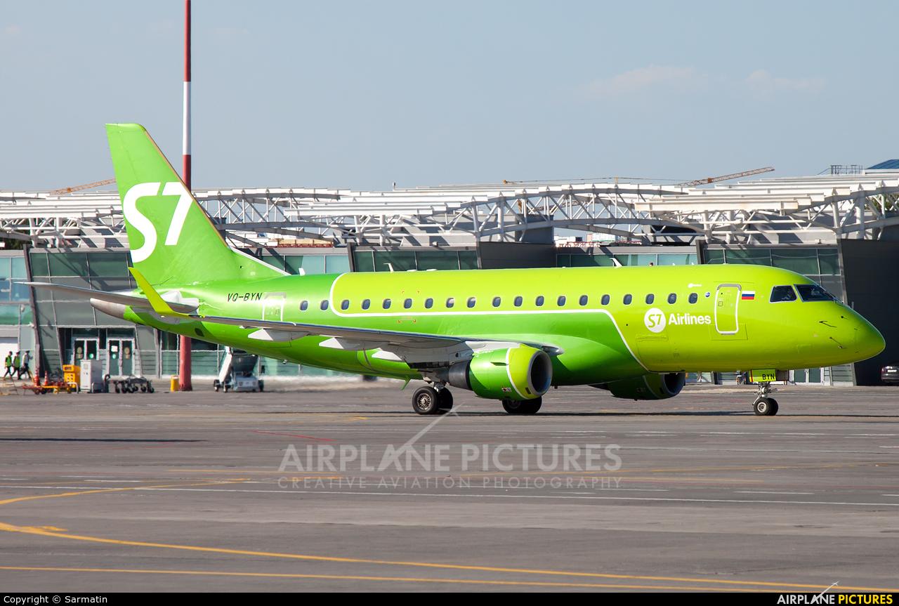 S7 Airlines VQ-BYN aircraft at Kazan
