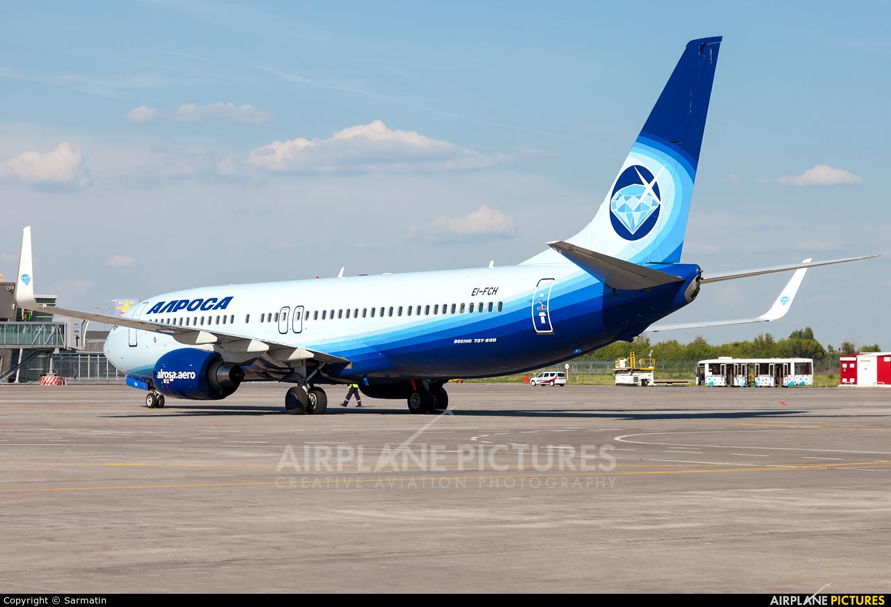 Alrosa EI-FCH aircraft at Kazan