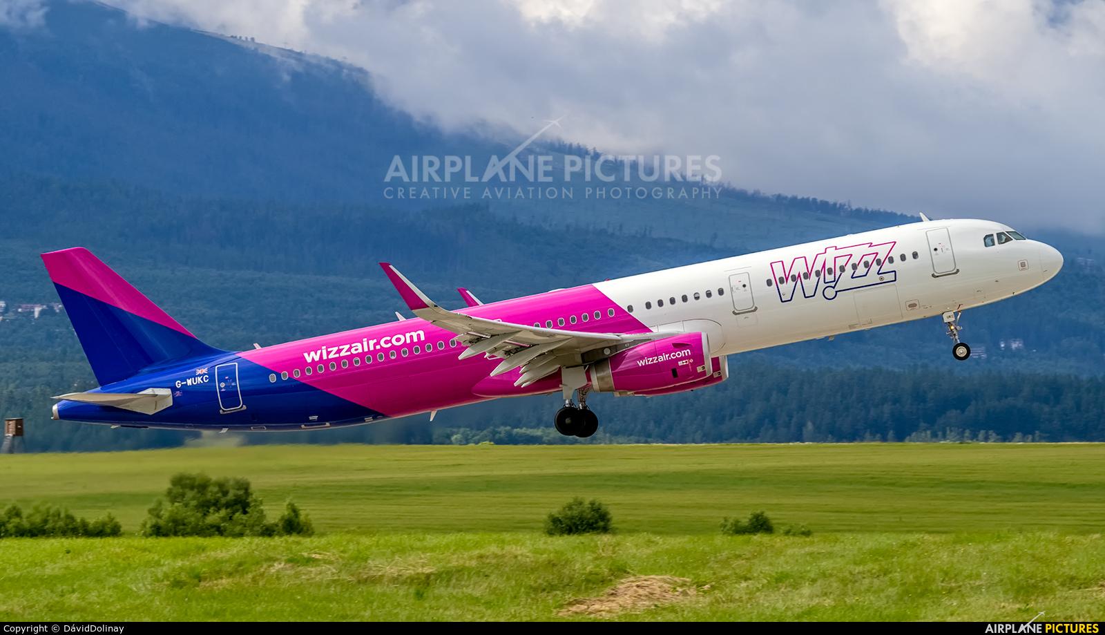 Wizz Air UK G-WUKC aircraft at Poprad - Tatry